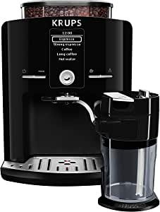 Krups EA8298 Independiente Totalmente automática Máquina espresso 1.7L Negro - Cafetera (Independiente, Máquina espresso, 1,7 L, Molinillo integrado, 1450 W, Negro): Krups: Amazon.es: Hogar