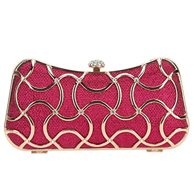 cheapest sale stylish design matching in colour Bonjanvye Crystal Clutch Evening Bags For Women Clutch With ...