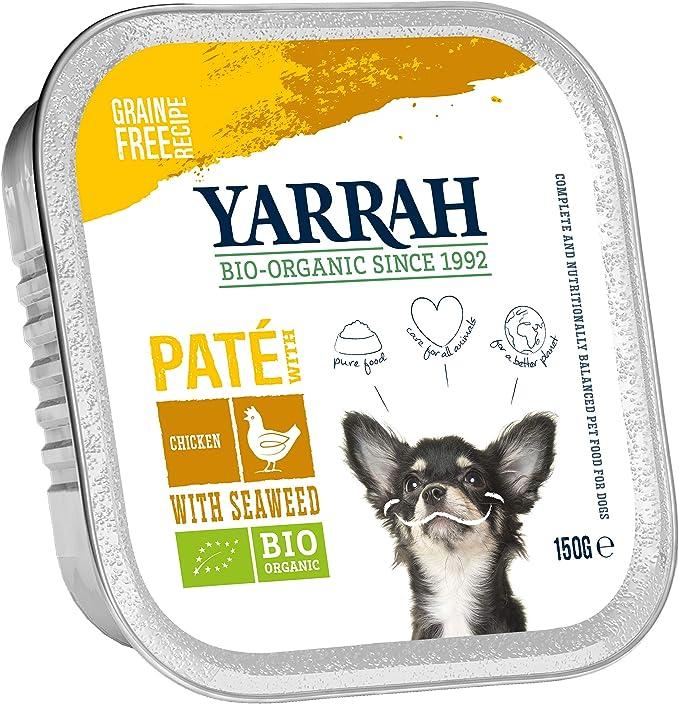 Yarrah Comida para Perros, Pollo y Algas, 150 g, 14 Unidades de 0 ...