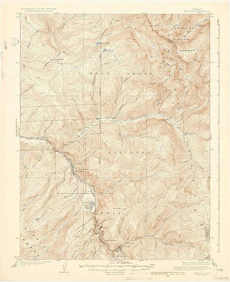 Minturn Colorado Map.Amazon Com Yellowmaps Minturn Co Topo Map 1 62500 Scale 15 X 15