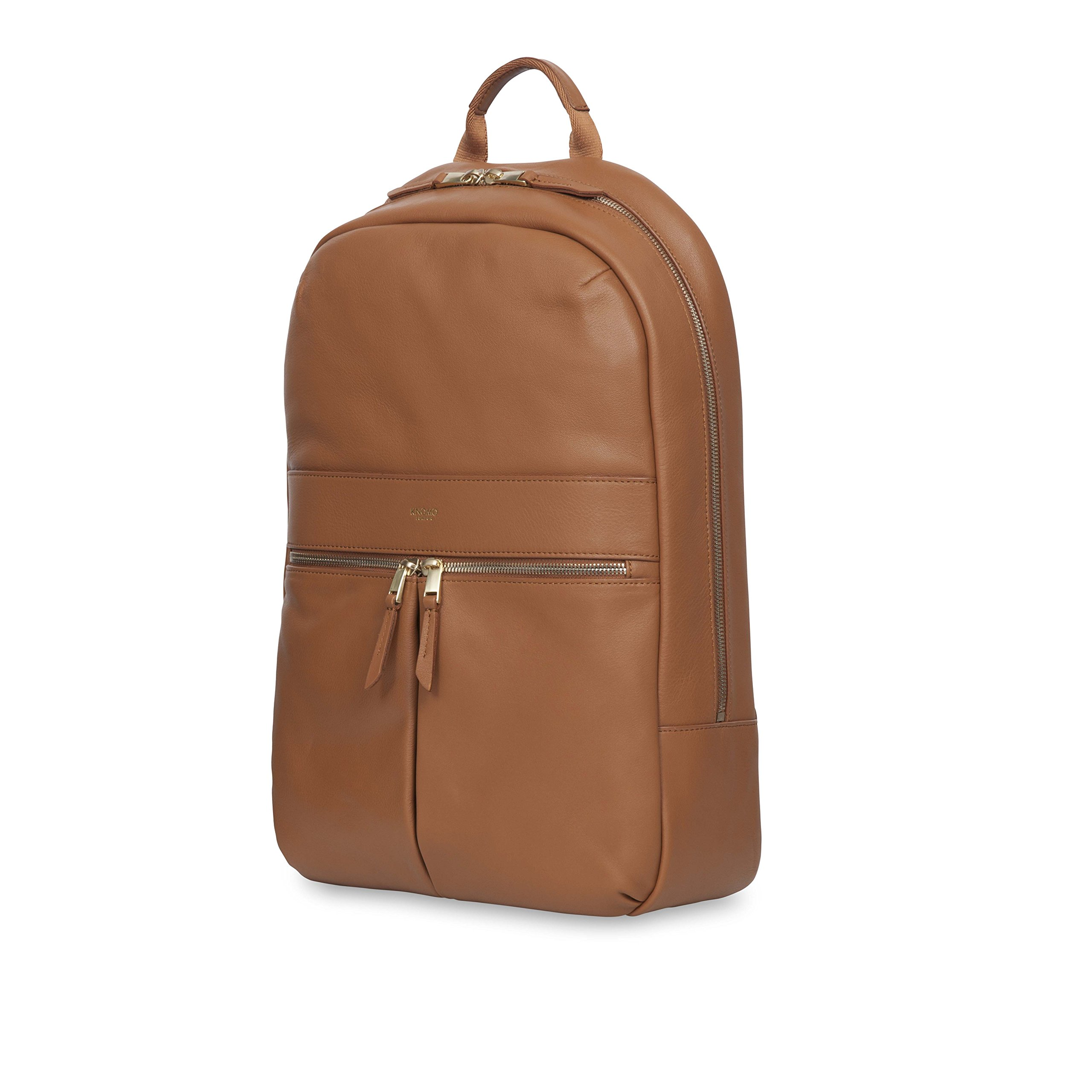 Knomo Luggage Women's Beaux Business Backpack, Caramel, One Size
