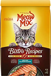 Meow Mix Bistro Recipes Dry Cat Food