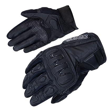 """Protektor Orina /""""Zero/"""" kurze Motorradhandschuhe in Größe  M Leder Gloves 8"""