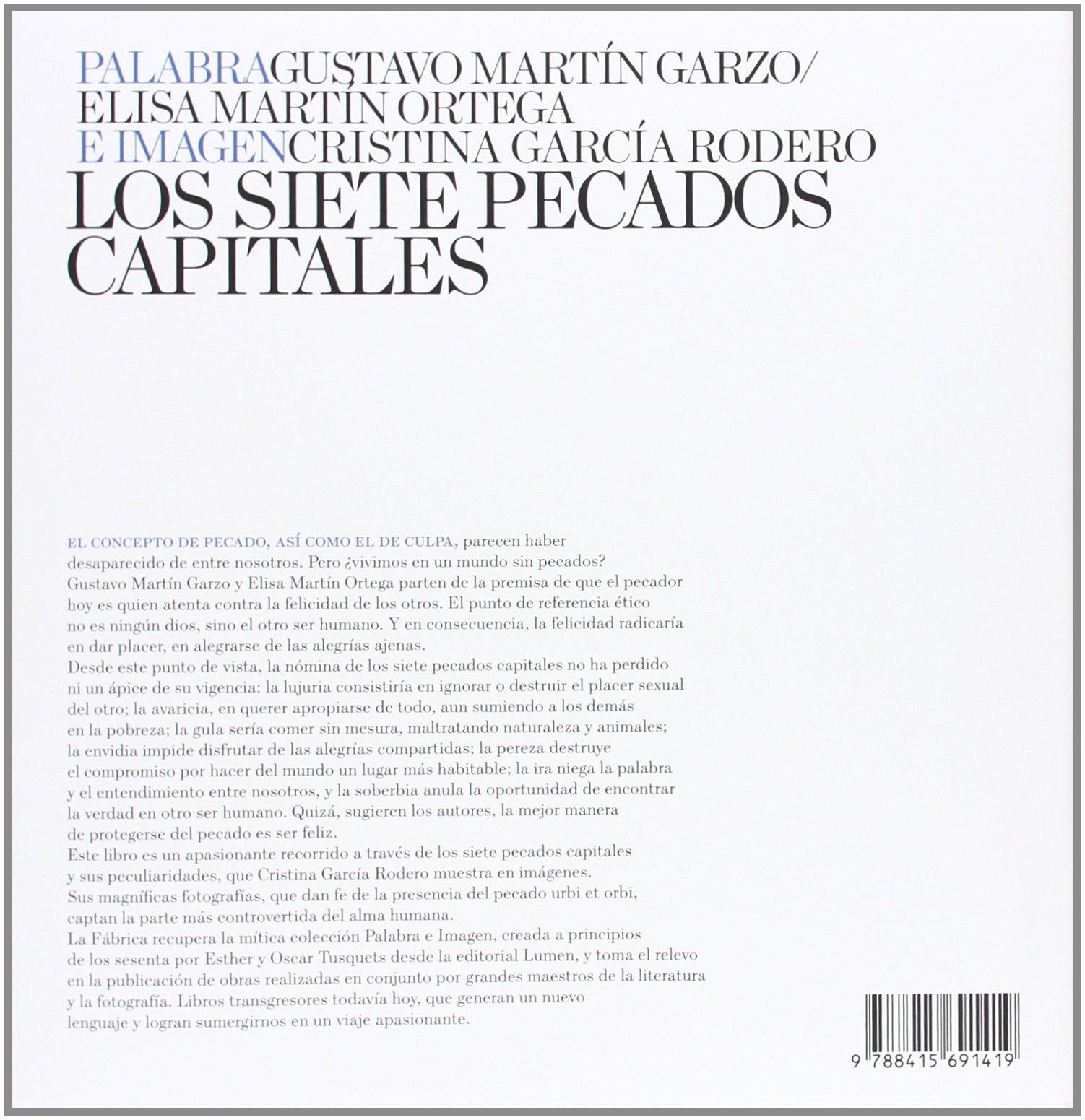 Los Siete Pecados Capitales (Palabra e Imagen): Amazon.es: García ...