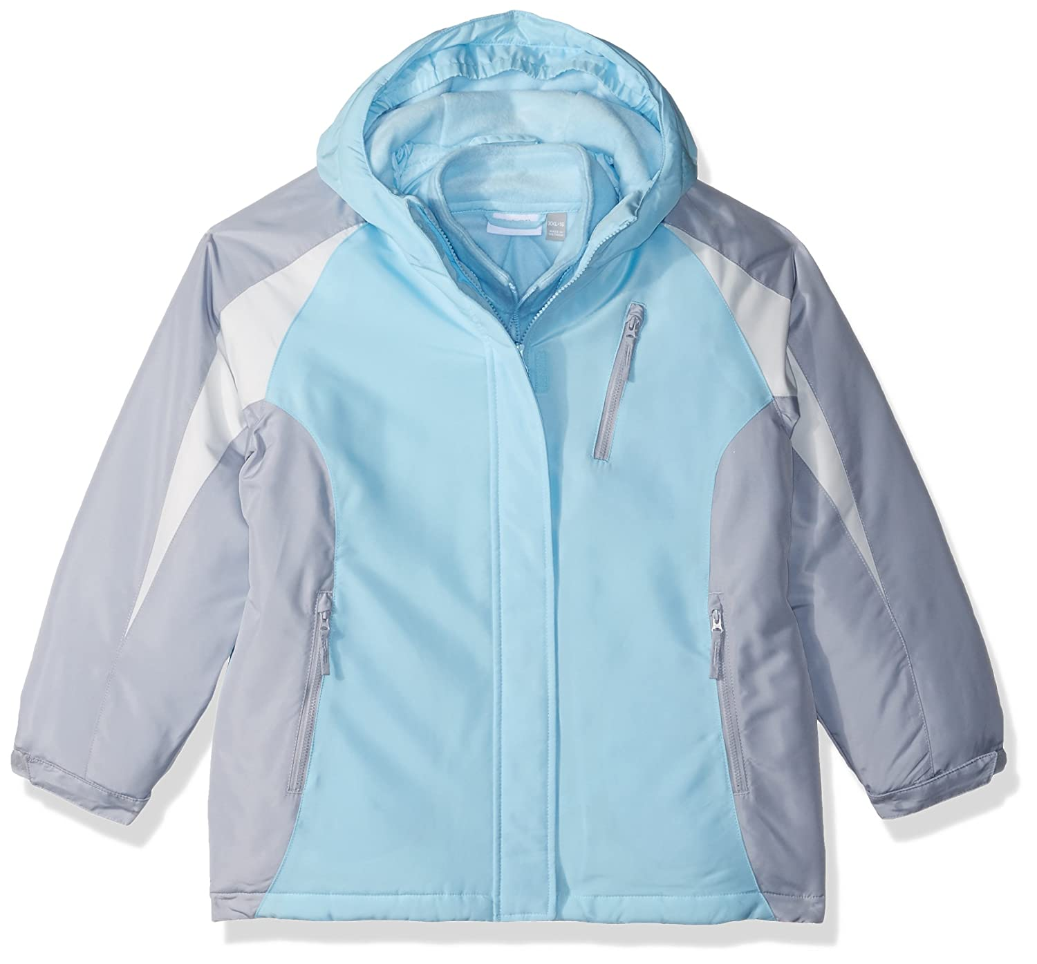 The Children's Place Girls' Big Solid 3-in-1 Jacket 2084947