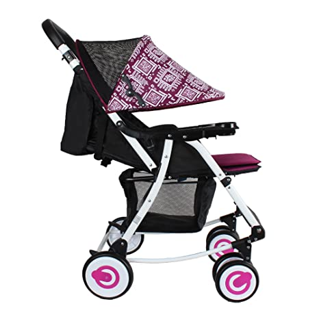 Buy Abdc Kids 2 In 1 Rocker Stroller Pink Online At Low Prices India