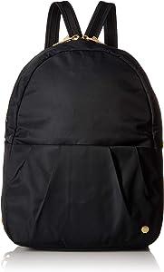 "PacSafe Women's Citysafe CX Anti Theft Convertible Backpack-Fits 10"" Tablet, Black, 8 Liter"