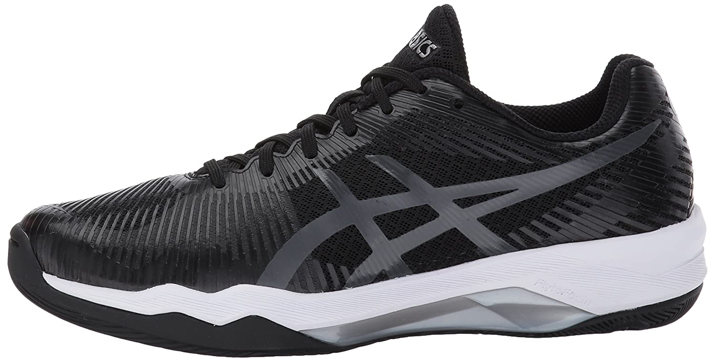 ASICS Women's Volley Elite FF Volleyball Shoe B01N0BN1A2 8 B(M) US|Black/Dark Grey/White