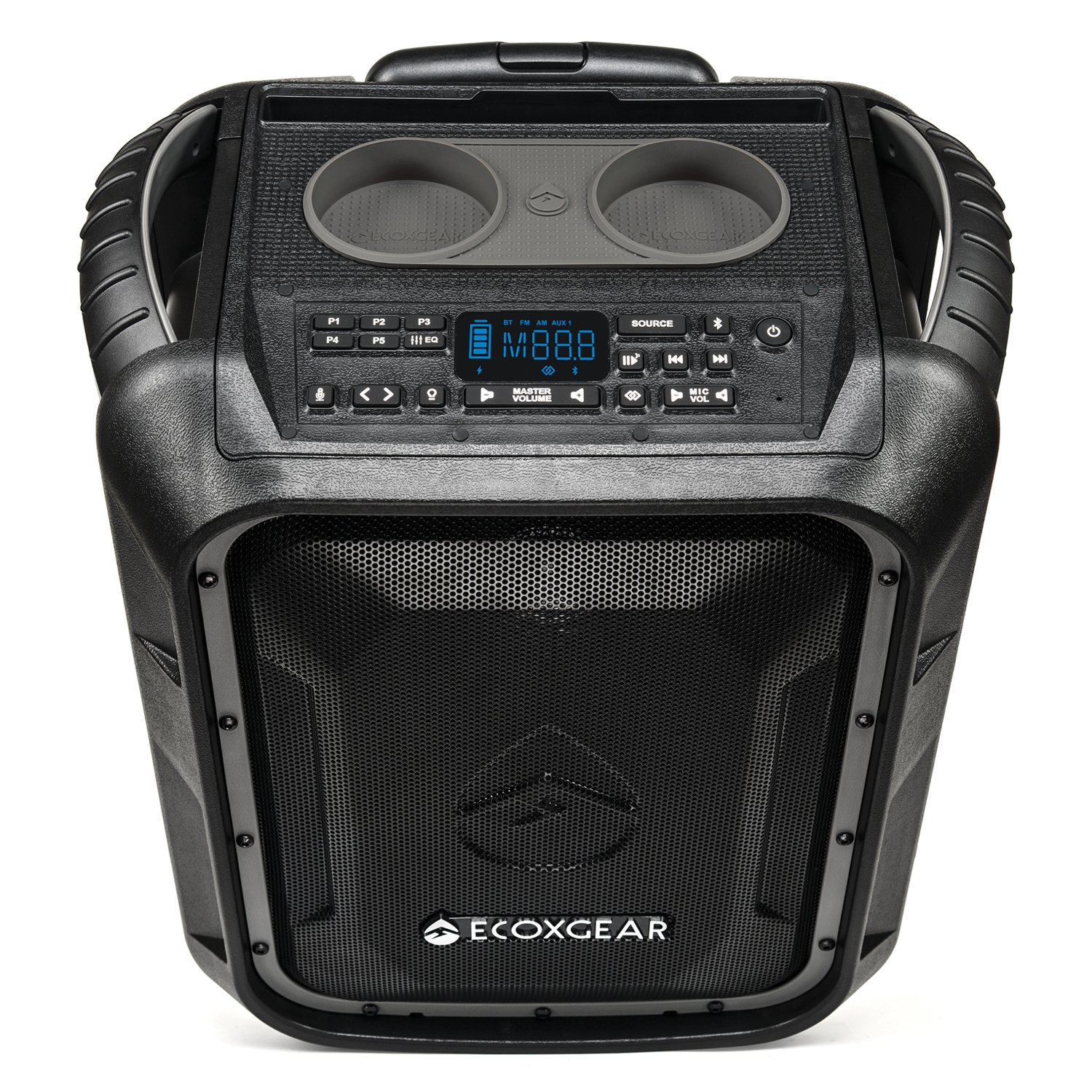 Ecoxgear Gdi-exbld810 Waterproof Portable Bluetooth/am/fm..
