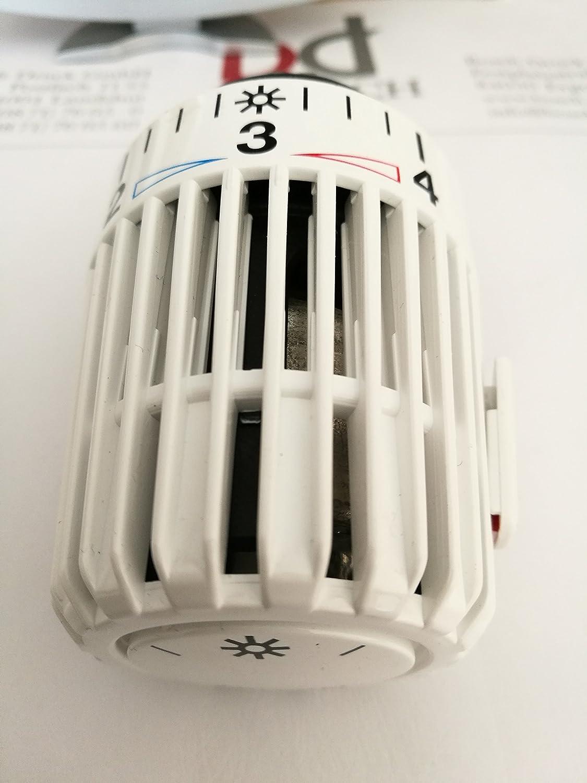 Heimeier T/ête de thermostat K avec position z/éro Blanc