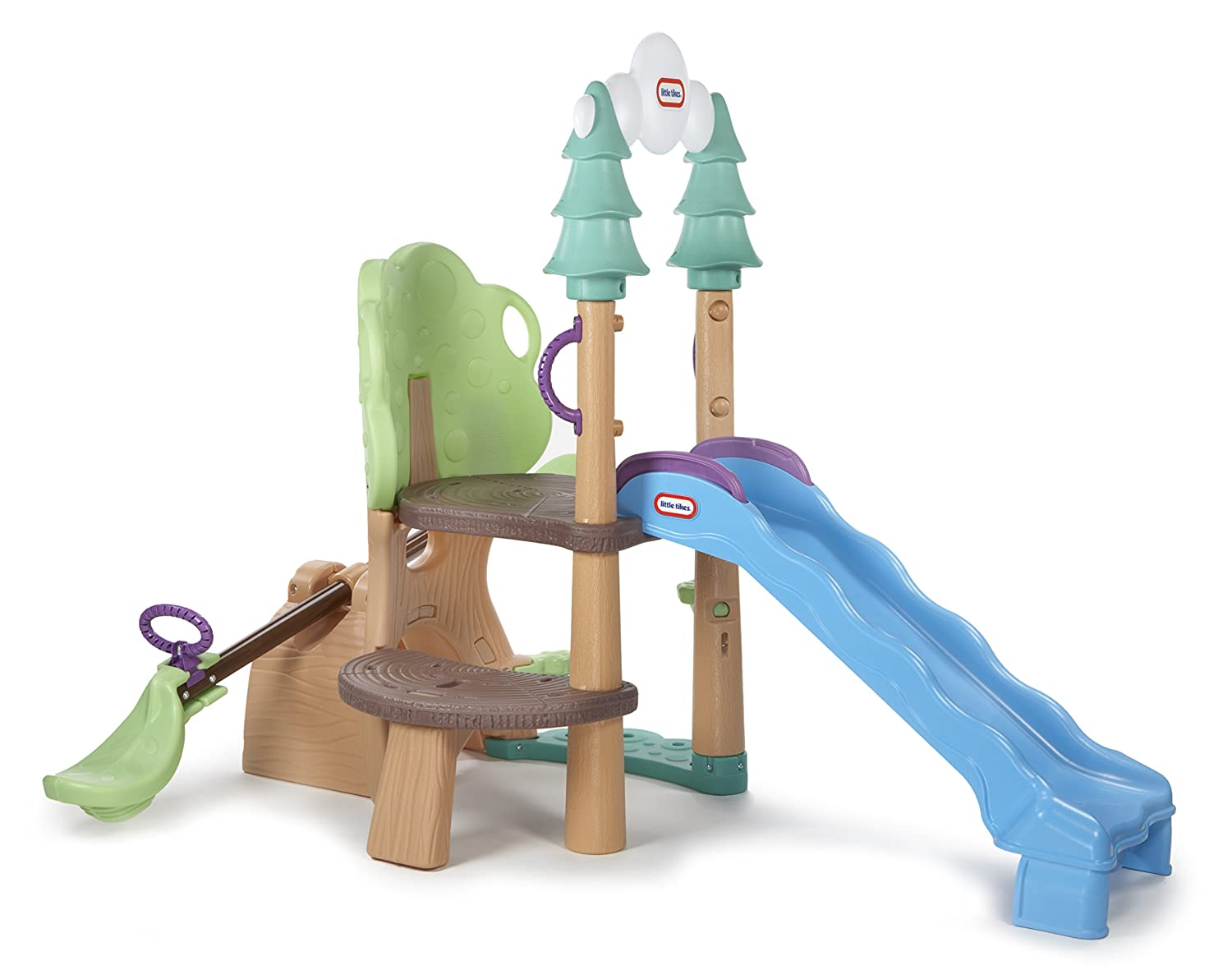 Amazon.com: Little Tikes 1,2,3 Climber, See Saw & Slide: Toys & Games