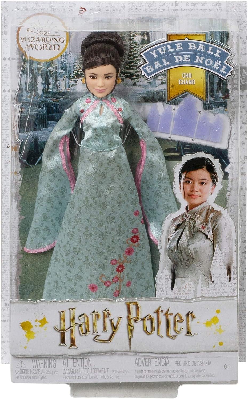 Harry Potter Muñeco Cho Chang Baile de navidad de Harry Potter con accesorios (Mattel GFG16)