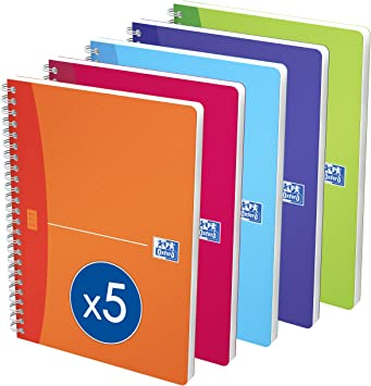 GREEN BLUE LILAC A4//A5 SOFT TOUCH NOTEBOOKS- 4 COLOURS TO CHOOSE FROM- PINK