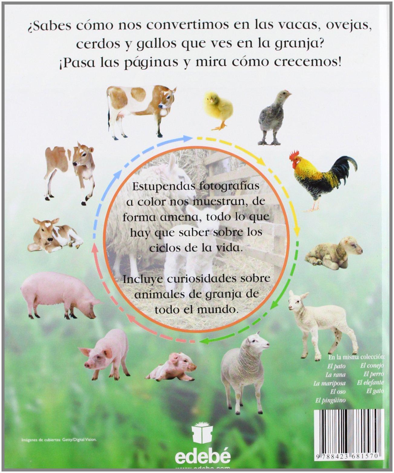 Animales de granja (MIRA CÓMO CREZCO): Amazon.es: Dorling Kindersley ...