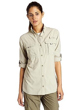 Amazon.com: Columbia Women's Bahama Long-Sleeve Shirt: Sports ...