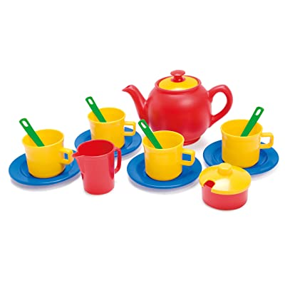 Dantoy - Tea Time-15 Piece Set (Colors may Vary): Toys & Games