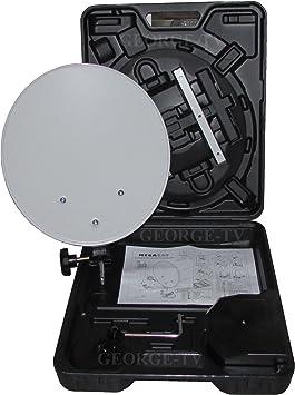 Megasat - Megasat camping balcón maleta sistema de satélite digital en hartschalenko práctica