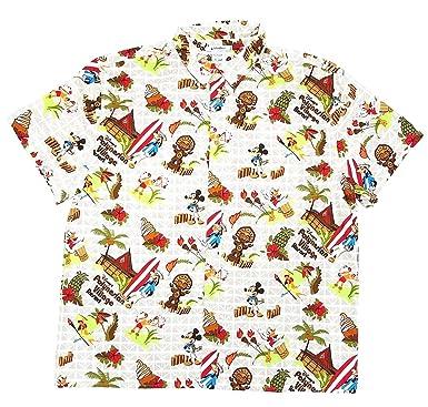 174e6cc0 DisneyParks Polynesian Resort Dole Whip Mickey Mouse Hawaiian Camp Shirt  Boys (Small)