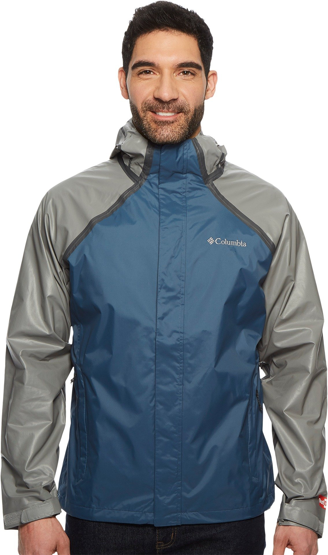 Columbia Men's Outdry Hybrid Jacket Whale/Titanium X-Large by Columbia