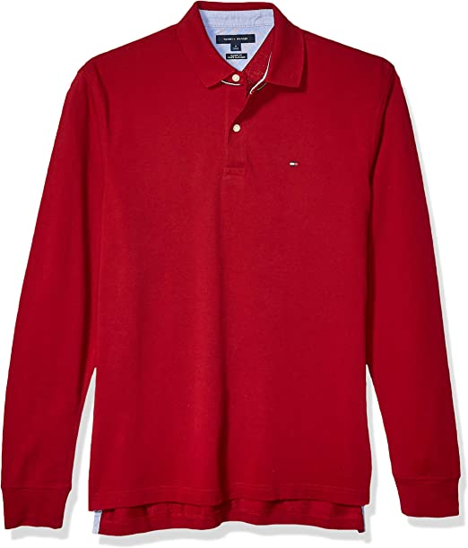 TOMMY HILFIGER MEN/'S CLASSIC FIT INTERLOCK POLO SHIRT *CHECK COLOR /& SIZE*