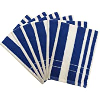 Lushomes Hand Towels with Ultra-Silky Stripe Finish (16 x 24 or 40 x 60 cms, 450 GSM, Pack of 6)- Stripe Collection