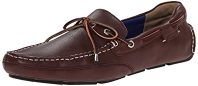Sebago Men's Kedge Tie Oxford, Dark Brown Leather, ...