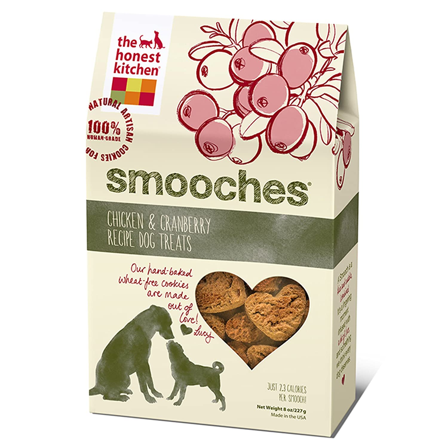 Amazon The Honest Kitchen Smooches Natural Hand Baked Wheat