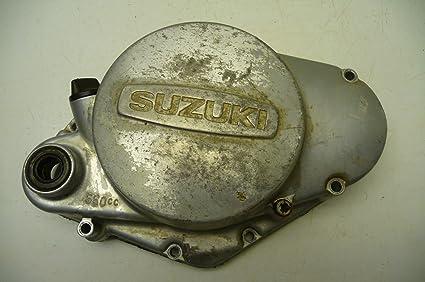 Amazon com: Suzuki TS185 TS 185#6014 Engine Side Cover/Clutch Cover