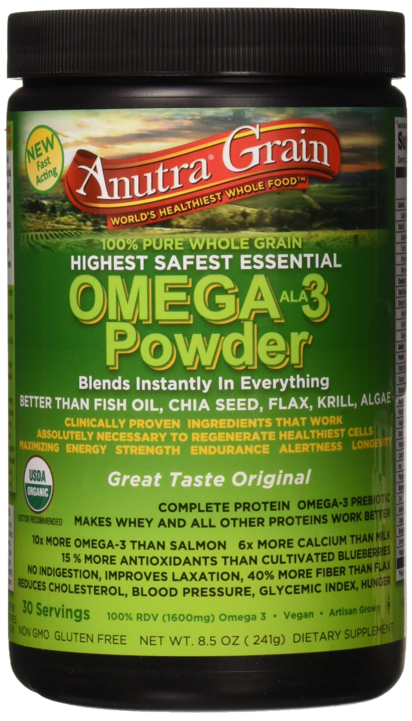 Omega-3,Powder,Original, 2.5 Pound