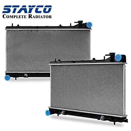 cu2402 radiator replacement for subaru forester impreza 1999 2000 2001 2002 h4 2 5l Forester Radiator Panel 15