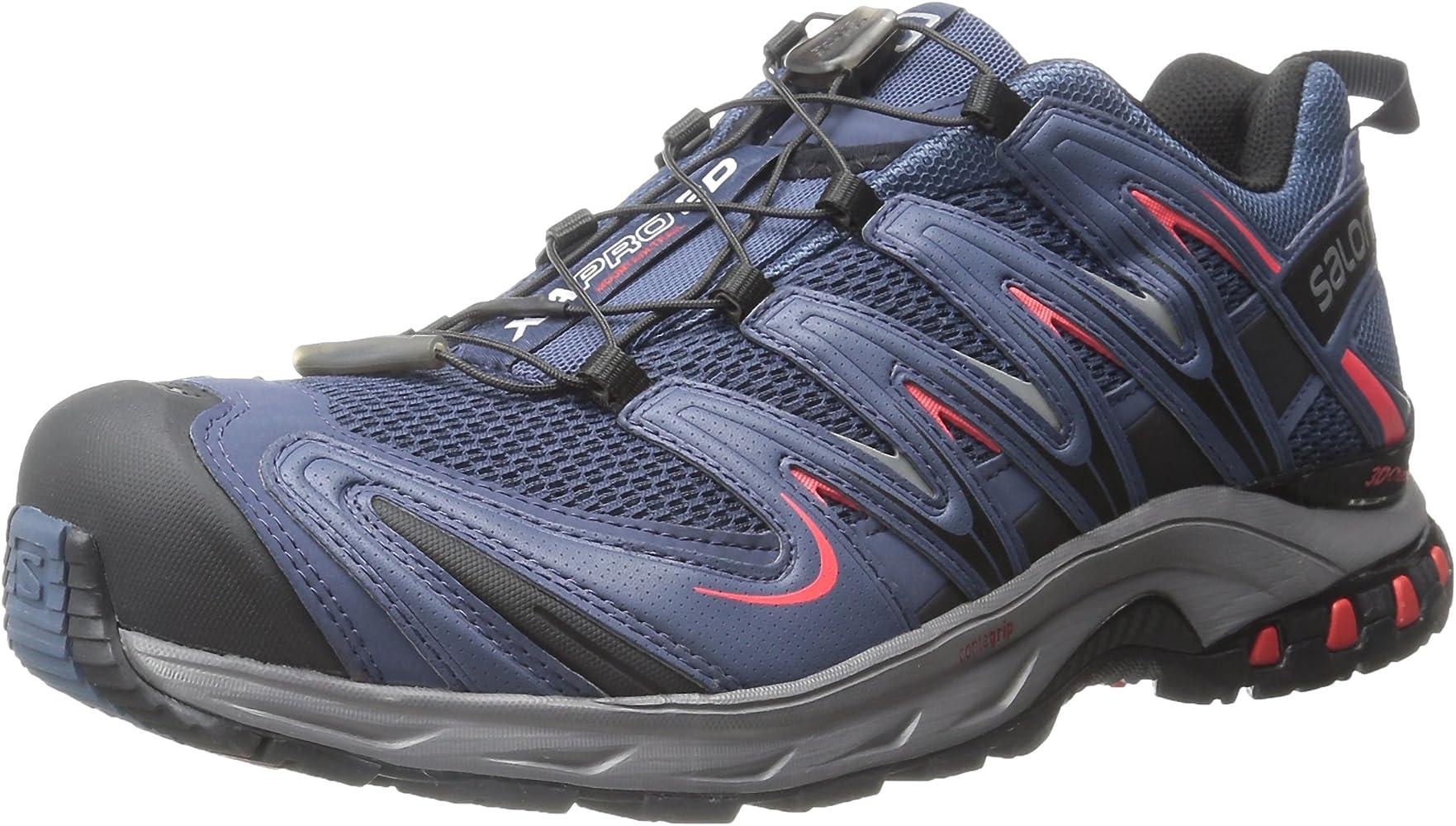 Salomon L37920800, Zapatillas de Trail Running para Hombre, Azul ...