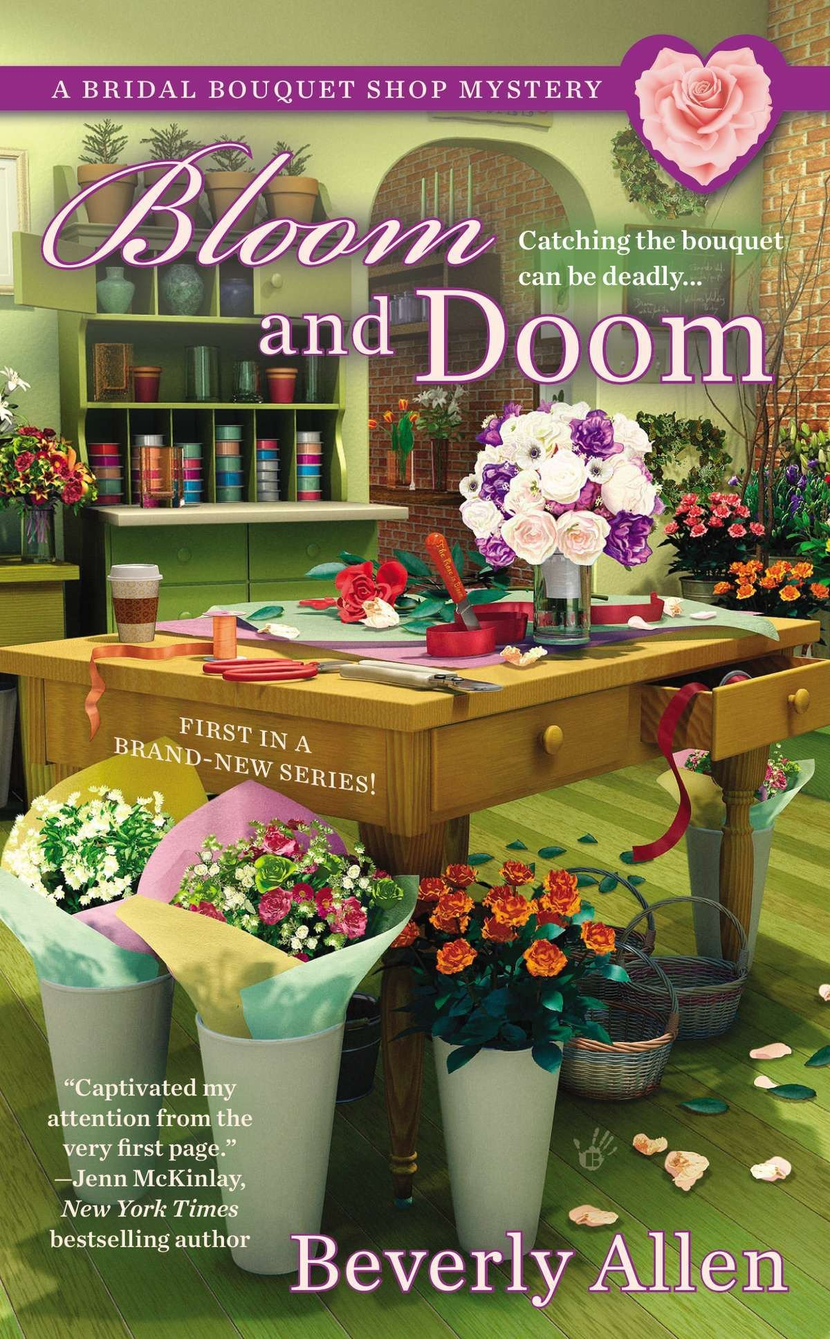 Bloom and Doom (A Bridal Bouquet Shop Mystery) PDF