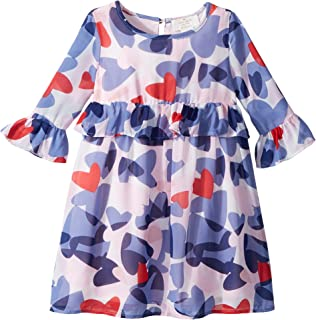 418aed011 Kate Spade New York Kids Womens Confetti Hearts Dress (Toddler/Little Kids)