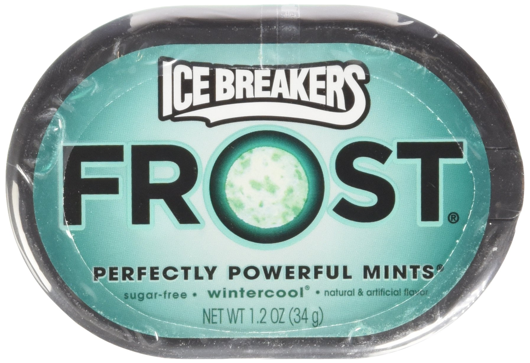 Ice Breakers Frost Wintercool Mints, 1.2-Ounce Pucks(Pack of 6)