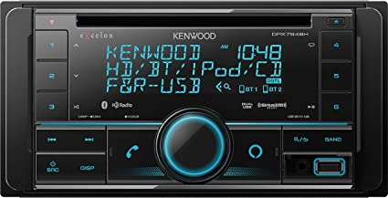 Kenwood DPX594BT CD Receiver with Bluetooth and Alexa Voice Control