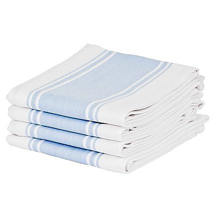 Kitchen Tea Towels By Cucinare 100% Cotton , Professional Grade ...