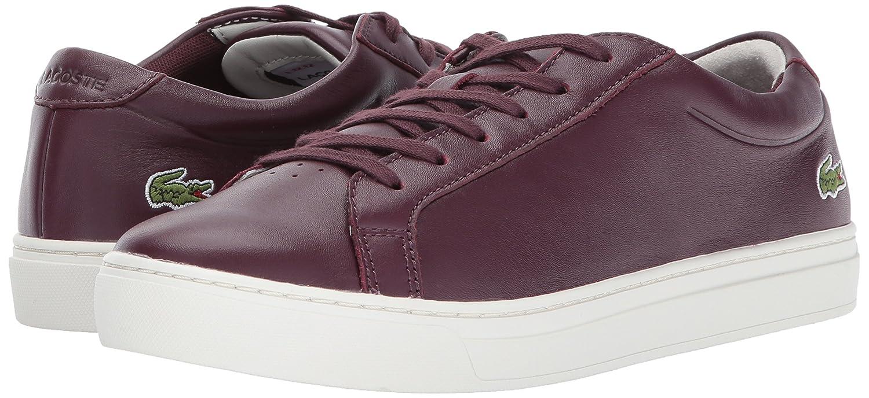 Lacoste Women's L.12.12 317 1 Fashion Sneaker B01N5LROLJ 7 B(M) US Burgundy