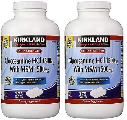 Amazon.com: Kirkland Signature Glucosamina HCI (Paquete de 2 ...
