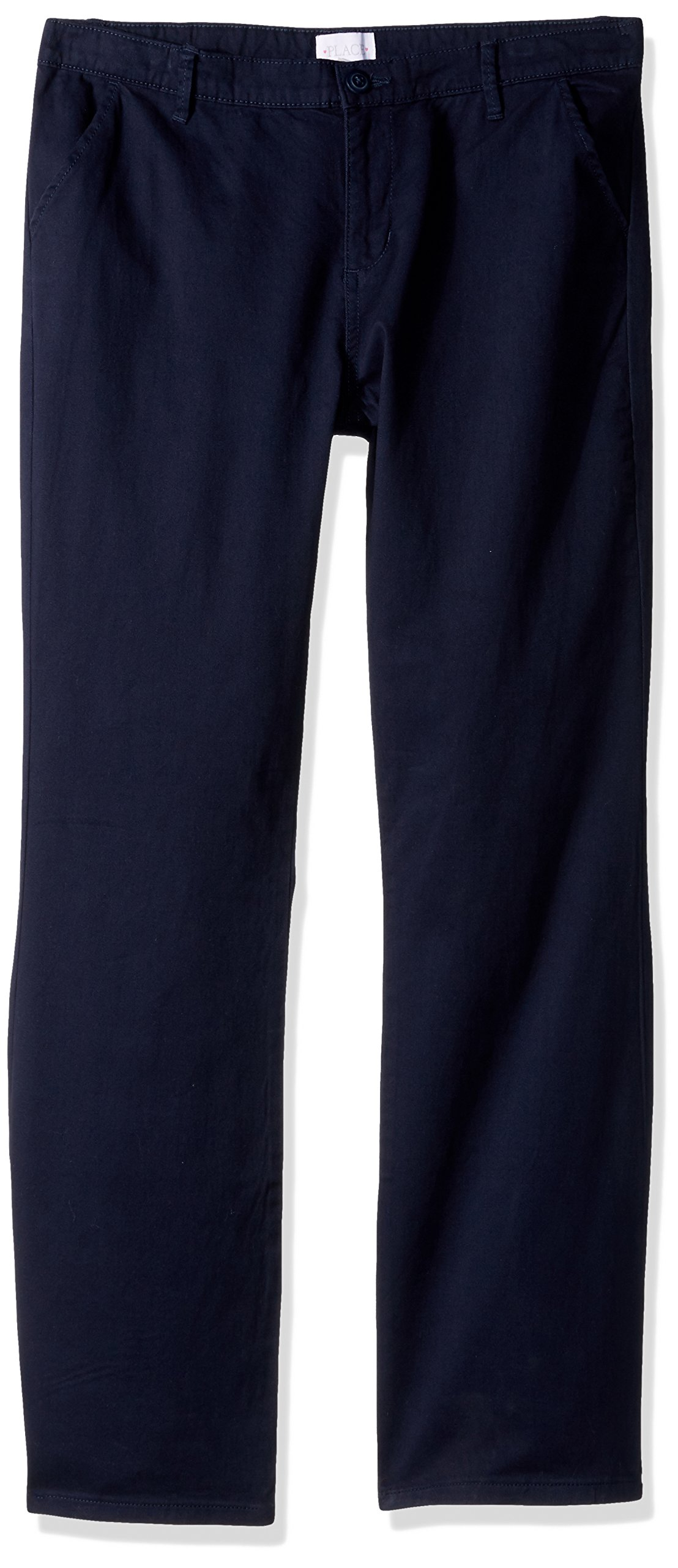 The Children's Place Girls' Big Skinny Uniform Pants, Tidal 4405, 16 Plus by The Children's Place (Image #1)