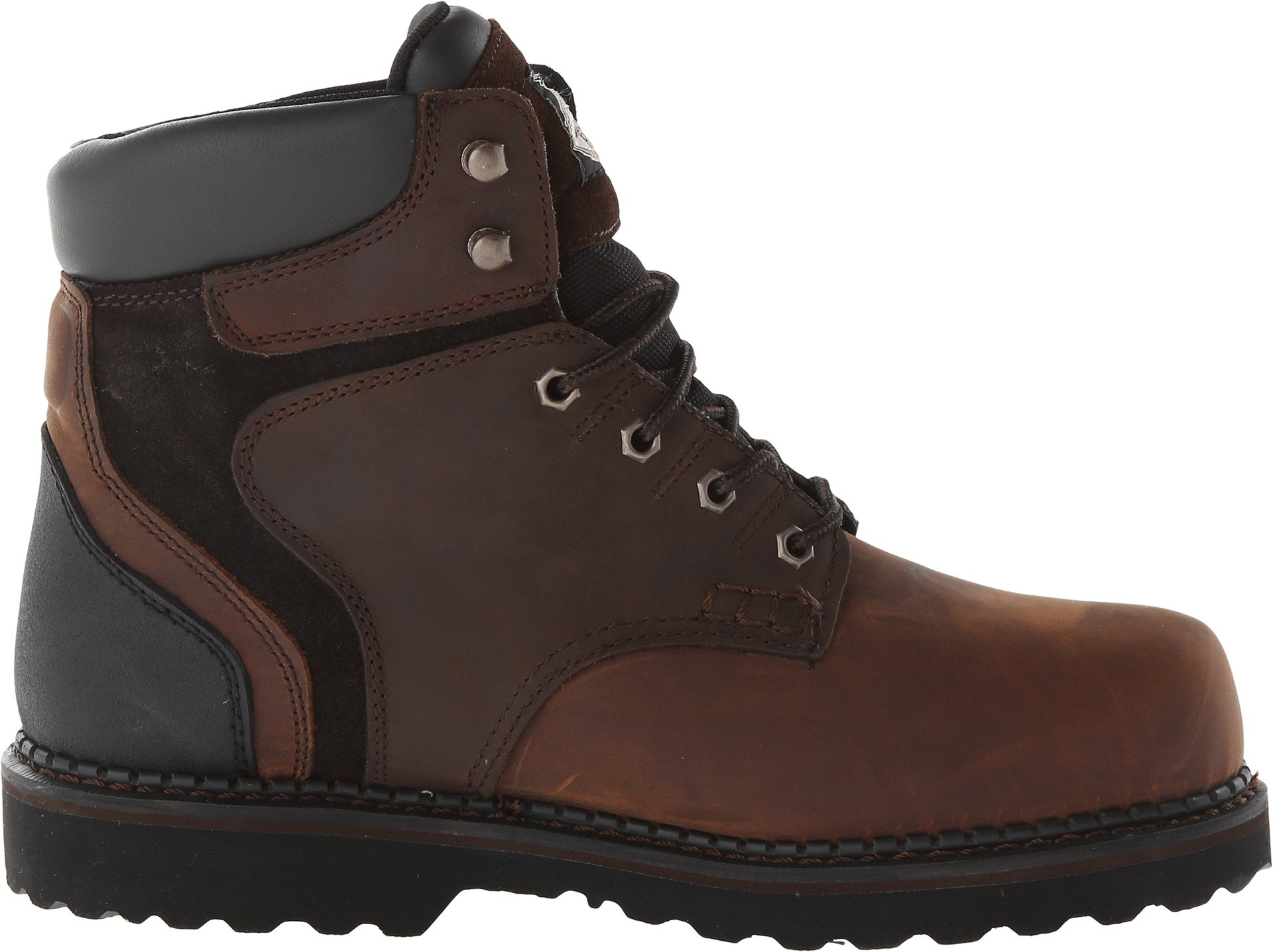 Georgia Boot Men's Brookville 6 Inch Work Shoe, Dark Brown, 10 M US by Georgia (Image #3)