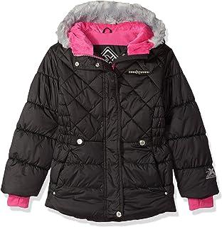 becf86c01bf1 Amazon.com  ZeroXposur Girls  Toddler Brenna Puffy Jacket
