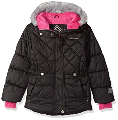 fa7258273 Amazon.com  ZeroXposur Lexy Big Girls Puffer Jacket  Clothing