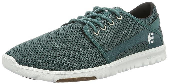 Etnies Scout W'S - Zapatillas de Sintético Mujer, Color Verde, Talla 42.5 EU