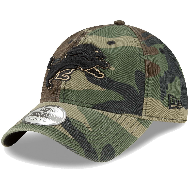 【当店一番人気】 Detroit Lions New New Era Woodland Camoコアクラシック9twenty Adjustable Era Hat Adjustable B07D73CTJ4, シラハママチ:c031a193 --- diceanalytics.pk