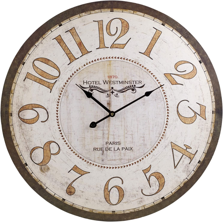 RAFFAELLESCO DELUXE Large Round Wall Clock