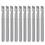 HQMaster CNC Router Bits, 10 Pack 1/8