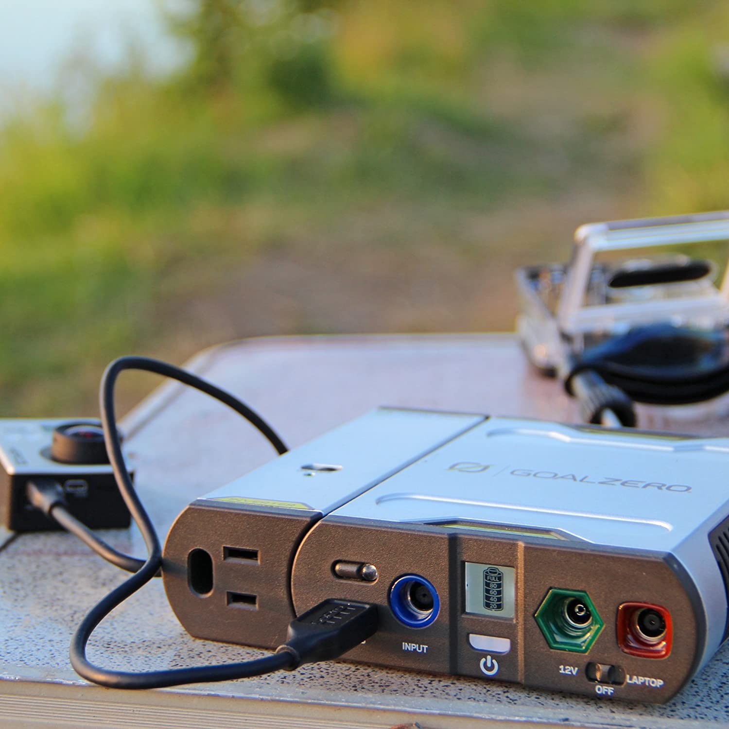 5200mAh//58Wh Goal Zero Sherpa 50 Power Pack with 110V AC Inverter
