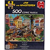 Jan van Haasteren -  Get That Cat Jigsaw Puzzle (500 Pieces)