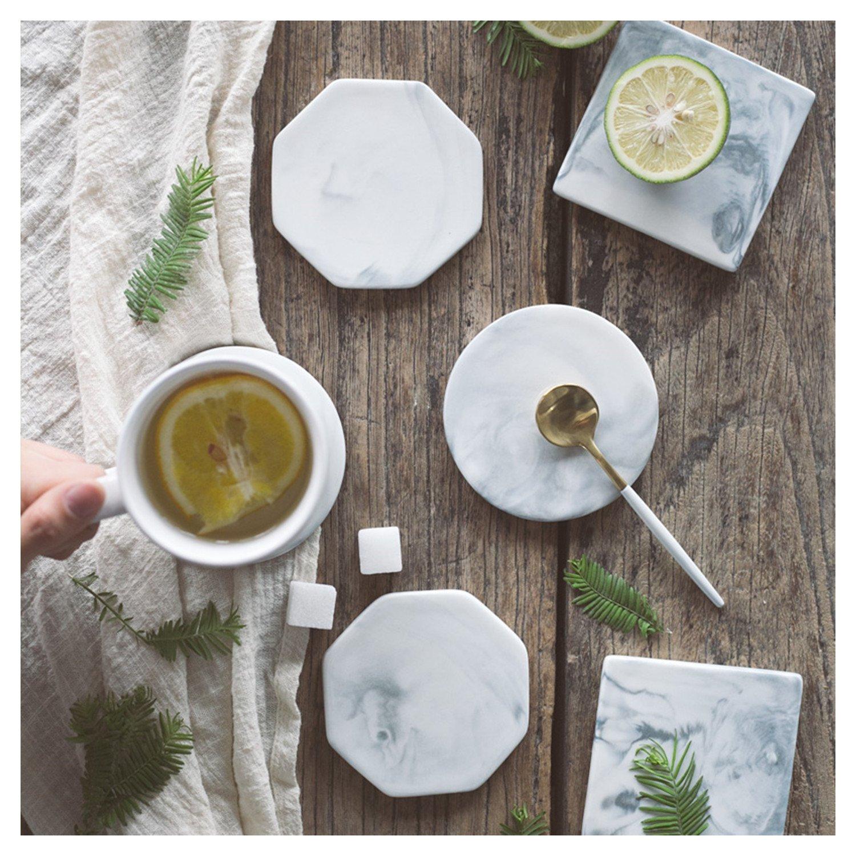 Amazon com   Marble Patterned Decorative Anti-Slip Ceramic