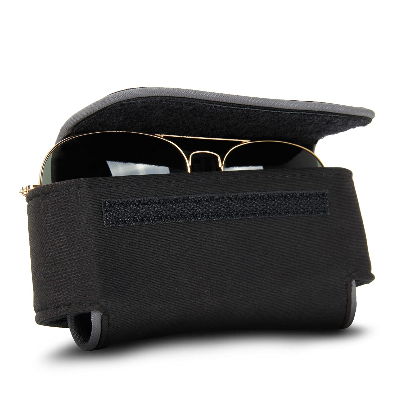 USA Gear Eye Glasses/Sunglasses Holder Soft Adjustable Case with Belt Clip GEAR-FLEXARMOR-SMART